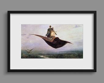 The Flying Carpet - Viktor Vasnetsov
