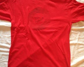 Original Paul Frank Merchandise | T-Shirt Red | Large Size | Paul Frank Print