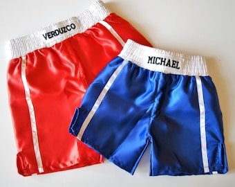 Baby boxing trunks /  Personalized baby trunks