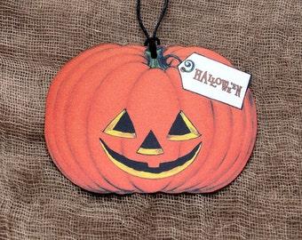 Halloween Jack O Lantern Pumpkin Gift or Scrapbook Tags #156