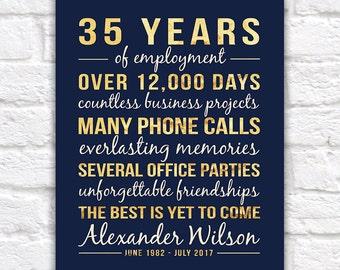 Personalized Retirement Gift, Retirement Year, Retirement Gifts for Men, Retirement Sign, Gifts for Women, Office Employee, Doctor   WF106