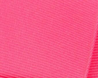 Tutti Frutti Pink Grosgrain Ribbon     (05-##-S-190) 5 yards