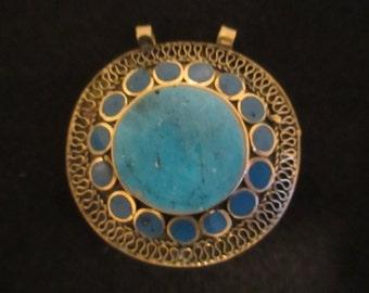Arabian Turquoise Pendant