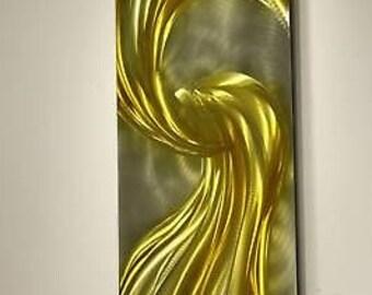 Wilmos Kovacs Original Art Metal Wall Sculpture Abstract Decor Painting W62
