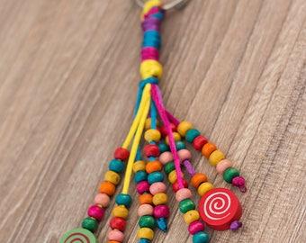 Rainbow Keychain, Rainbow Keyrings, Rainbow Love Gift.