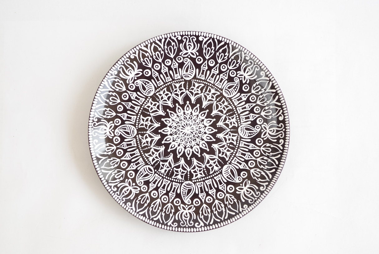 Decorative Christmas Plates For The Wall Indian Decorative Plate Wall Decorations Christmas Gift