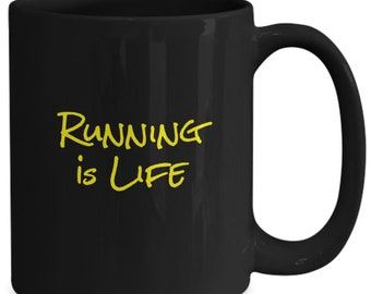 Running is life - coffee mug gift