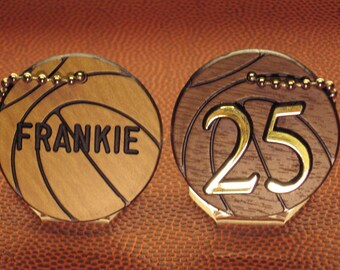 Basketball Gift / Basketball Team Gifts / Girls Basketball Gifts / Boys Basketball Gifts / Basketball Bag Tags