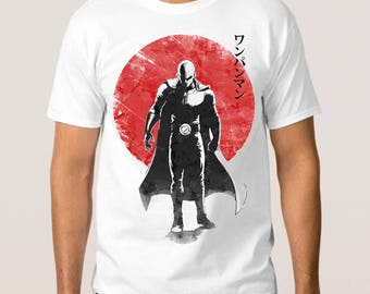 One-Punch Man Art T-Shirt, All Sizes