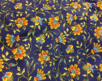 """DESTASH One yard Tuscany Tiles Style by Hoffman International Fabrics  100% Quilting Cotton 45"""" wide"""