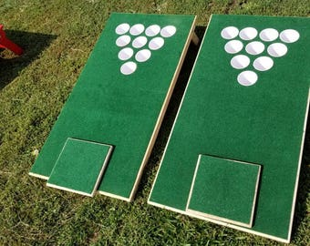 Golfhole beer pong
