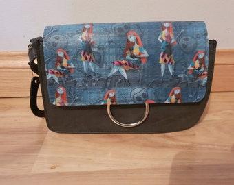 nightmare before christmas - jack skellington - sally themed handbag - custom made