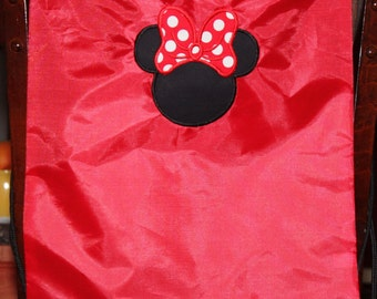 Minnie Mouse draw string bag