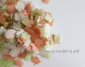 Vintage wedding decor confetti /Throwing and table decor variation.Rural vintage wedding from harmony style.