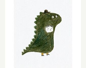 Dino print