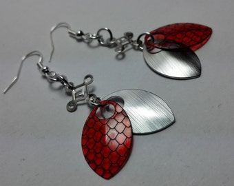 Earrings Dragonskin - choose colors!