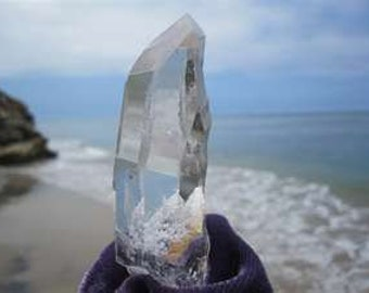 Manifesting with clear quartz guided imagery with crystal