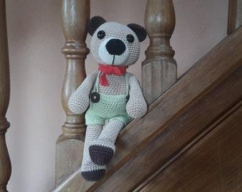 Theodore Hook - Amigurumi bear