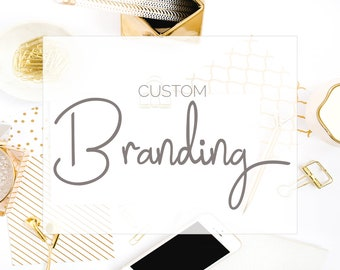 Custom Logo Design/ Branding Package/ Business Branding/ Branding Kit/ Custom Design