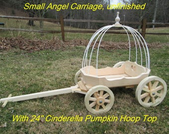 Small Angel  Carriage - Unfinished -  for Babies & Toddlers