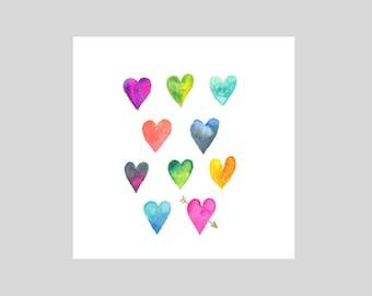 Card - Hearts