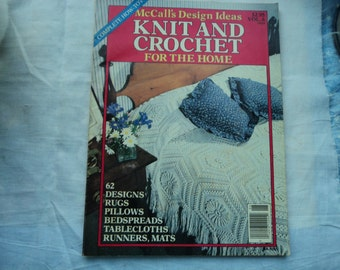 McCall's Design Ideas Knit and Crochet for the Home Vol. 6 14224