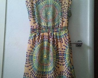 Mandala Dress Size M