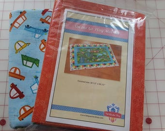 On the Go Play Mat Quilt Kit plus Backing by Wilmington Prints