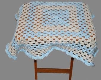 Baby Blue Blanket, Blue Blanket, Blue Afghan, Baby Afghan, Baby Blanket Boy, Crochet Baby Blanket, Baby Blanket, Crib Afghan, Afghan Blanket