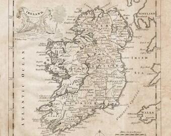 Map of Ireland -1764