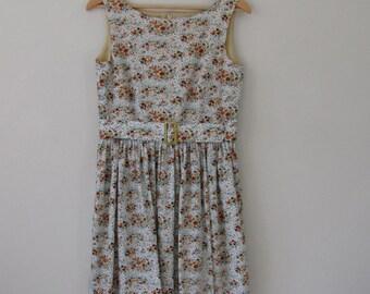 1950s vintage-style day dress