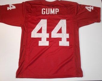 Alabama Crimson Tide Forrest Gump Movie UNSIGNED CUSTOM Red Jersey - XL