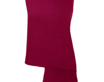 Crimson Red Handmade 100% Pure Cashmere Shawl Wrap Scarf - Pashminas and Wraps - Also available In 36 Other Colours