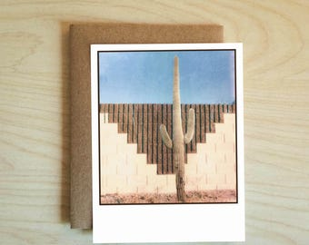 Cactus Card, Aztec Cactus. Any Occasion. Greeting Cards.