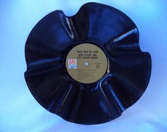 1968 HERB ALPERT & The Tijuana Brass que maintenant mon disque vinyle amour bol. Disque vinyle recyclé. Bol de disque. Herb Alpert Fan cadeau