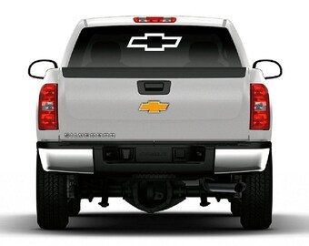 Chevrolet Bowtie Vinyl Decal Car Truck Window Large Chevy Logo Sticker