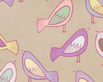 Fabric by Alexander Henry Sweet Tweet Pastel x1m