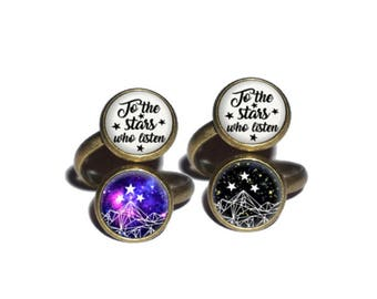 To the stars who listen Ring, Night Court Jewelry