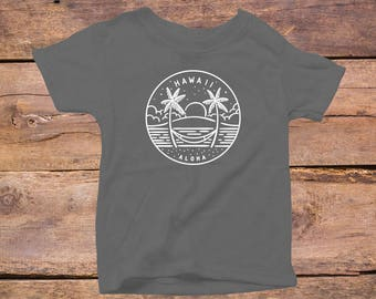 Hawaii State Design - Eco Tri-Blend Infant T-Shirt