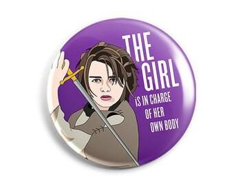 Feminist Arya Button