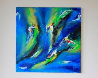Adagio - Original Abstract Art by Hannah-Eowyn