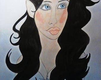 Whispers Of Varda: Arwen Portrait