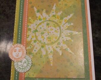 Spring Equinox Card Sun Ostara Vernal