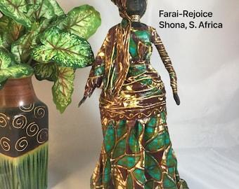 Farai, Sherika Queen Statue, Welcome  to Wakanda Collection, size 4, 13 inches