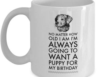 Funny Puppy Coffee Mug -  Gift Cup For Dog Lovers - Dog Themed Gift Mug For Dog Person