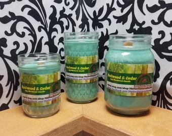 Redwood & Cedar - 100% Soy Wood Wick Candles