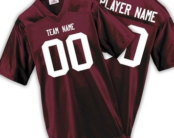 Overtime Mens & Boys Fan Wear Custom Football Jersey with Your Names and Numbers 17 Colors Available!