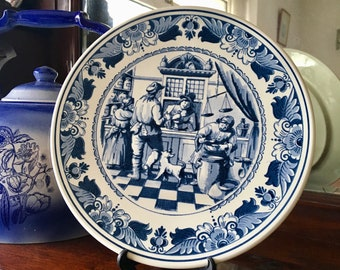 Royal Goedewaagen Collectable Delftware Plate
