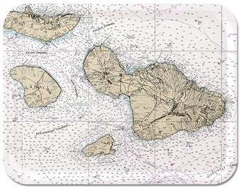 "Maui Nautical Tray 16 1/2"" x 12 1/2"""