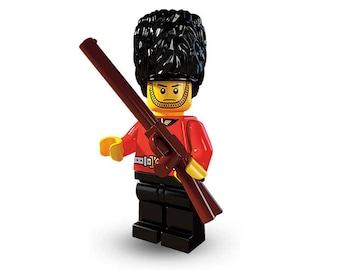 Buckingham Palace Guard custom minifigure 100% Lego Compatible